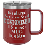 15 Ounce Insulated Stainless Mug