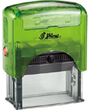 S844G - Shiny S-844 Green Self-Inking Stamp