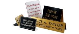 Tent & Freestanding Signs