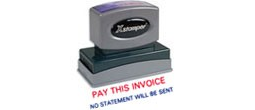 Stock 2-Color Jumbo Stamps