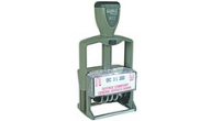 Classix Self-Inking Plastic Metal Daters