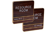 Architectural Sliding Message Wall Sign