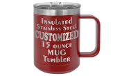 CAMEL15 - 15 Ounce Insulated Stainless Mug