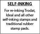 Ink for Self-Inking Stamps and Daters
