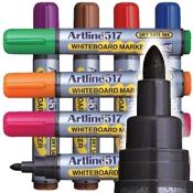 Artline EK-517 Dry Safe Whiteboard Markers 2.0mm Bullet Tip