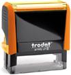 4913ON - Trodat Printy 4913 Neon Orange Self-Inking Stamp